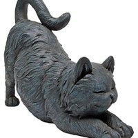 Design Toscano Playful Cat Stretching Statue | www.hayneedle.com