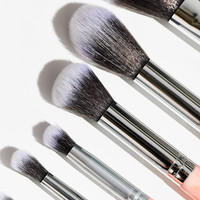 bh cosmetics Rose Quartz 9-Piece Brush Set | Urban Outfitters