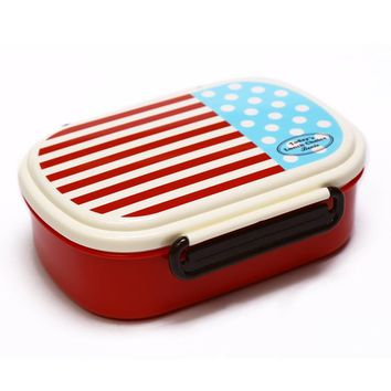 New Japanese Style Plasstic Sushi Food Storage Container For School Kids Portable Travel Camping Bento Lunch Box China Meal Prep