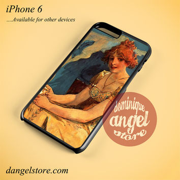Alphonse Mucha 6 Phone case for iPhone 6 and another iPhone devices