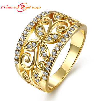 Best Clover Diamond Ring Products on Wanelo