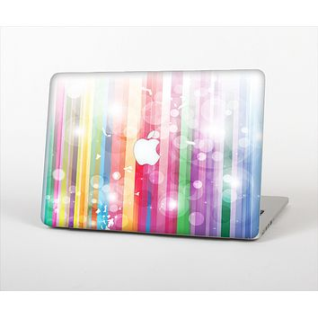 The Unfocused Color Vector Bars Skin Set for the Apple MacBook Air 11""
