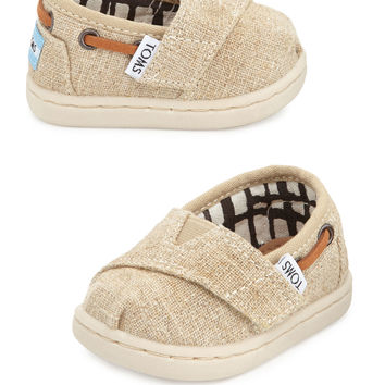 Tiny Burlap Bimini Shoe, Natural - TOMS