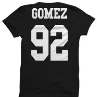 SELENA GOMEZ T-SHIRT SELENA GOMEZ JERSEY SHIRT SELENA GOMEZ CONCERT TICKETS MERCH CELEBRITY SHIRTS HIPPY SHIRTS BIRTHDAY GIFTS CHRISTMAS GIFTS