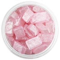 Pearly Pink Square Gem Sugar