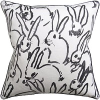 Hutch Black Pillow