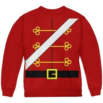 DCCKU3R Christmas Toy Soldier Nutcracker Costume Youth Sweatshirt