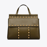Tory Burch T Stud Satchel