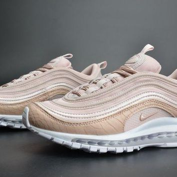 DCCKL8A Jacklish Girls Nike Air Max 97 Premium Pink Snakeskin For Sale
