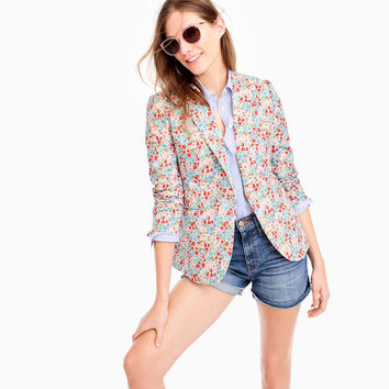 Campbell blazer in Liberty® poppy and daisy floral