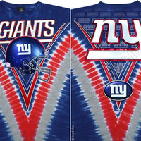 SALE New York Giants Tie dye Shirt Size Medium football mens