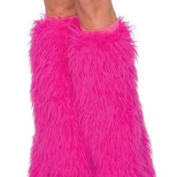 Leg Avenue Women's Furry Leg Warmers