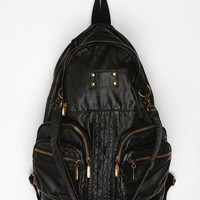 Deena & Ozzy Oversized Moto Backpack