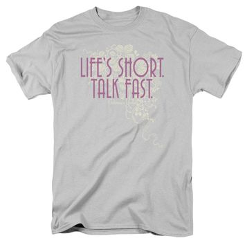 Gilmore Girls - Lifes Short Short Sleeve Adult 18/1