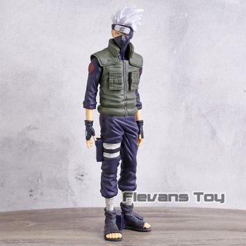 Naruto Sasauke ninja  Shippuden Hatake Kakashi Shinobi Relations Ver. PVC Figure Anime Nartuo Collectible Model Toy AT_81_8