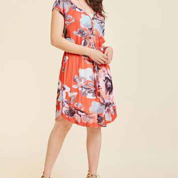 Charming Connections Floral Dress