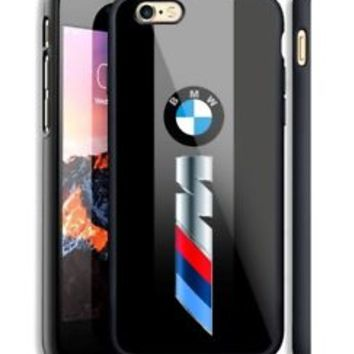 Luxury Car BMW M3 Logo Fit Hard Case For iPhone 6 6s Plus 7 8 Plus X Cover +