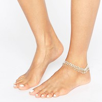 New Look Beaded Anklet