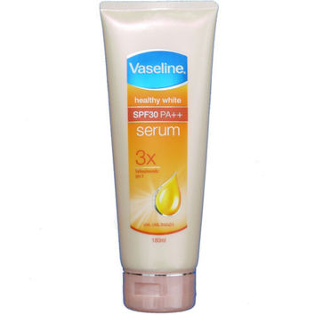 Vaseline Healthy White Skin Whitening Body Lotion Serum SPF30 180ml 6.1oz