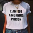 Fashion letters Round neck shirt