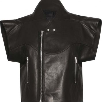 RICK OWENS Cyclops Leather Jacket