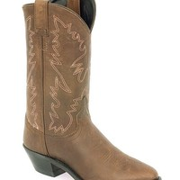 Old West Distressed Leather Cowgirl Boots - Sheplers