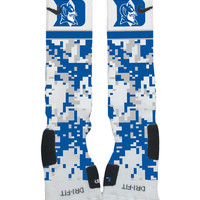 Custom Nike Elites Socks-Duke University Blue Devils