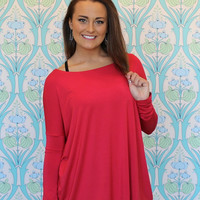 Piko Top in Red