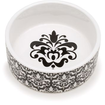Petco Chateaux Print Ceramic Bowl