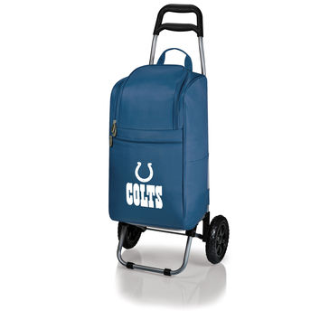 Indianapolis Colts - Cart Cooler with Trolley (Navy)
