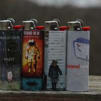 Brand New (band) Full Size Lighters