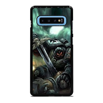 WARHAMMER BLACK TEMPLAR  Samsung Galaxy S10 Plus Case Cover
