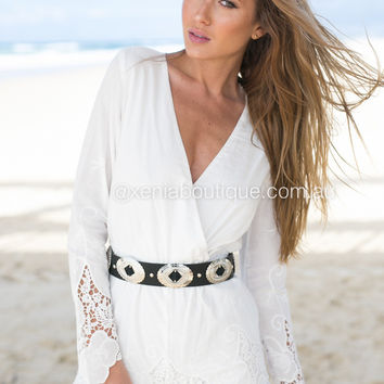 Angel In Lace Playsuit