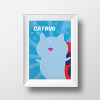 Bravest Warriors Catbug Printable Wall Art