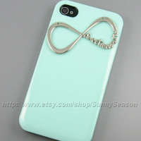 IPhone 4 Case, iPhone 4s Case, Direction Mint Green Hard iphone Case,Great Gift for Directioner