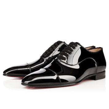 Greggo Flat Black Patent Leather