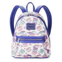 Disney Mad Tea Party Mini Backpack by Loungefly New with Tags