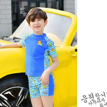 Rhyme Lady Boys Swimsuit Bathing suit Children Swimwear Animals Baby Swim Suit Children Beach Wear Kids Swimming