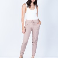 Lightweight Drawstring Pants