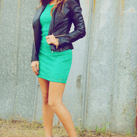 See You In A Zip Jacket: Black Leather | Hope's