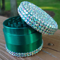 GRINDER -- Emerald Crystal Top + Bottom