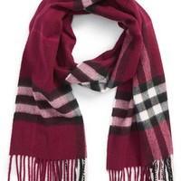 Burberry Giant Check Cashmere Scarf | Nordstrom