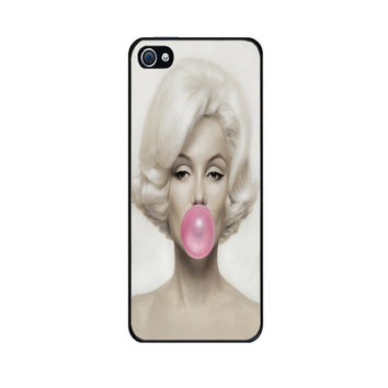 Marilyn Monroe with pink Bubble Gum Galaxy S4 Galaxy S3 , iPhone 5 , iPhone 4S , 4 SHIP FROM USA