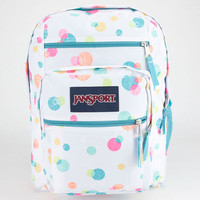 Jansport Big Student Backpack Pink Pansy Confetti One Size For