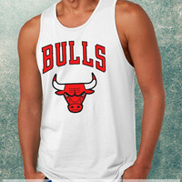 Chicago Bulls Clothing Tank Top For Mens