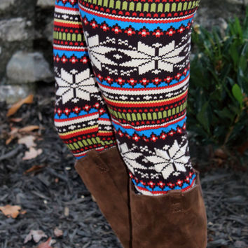 Snuggle Up Leggings
