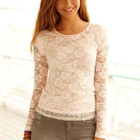 Floral Lace Long Sleeve
