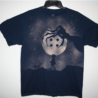 Coraline Inspired Custom Bleached Shirt