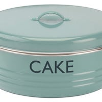 "Summerhouse ""Cake"" Tin, Blue, Food Storage Containers"