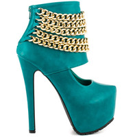 Privileged - Chain Up - Teal